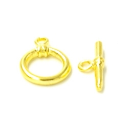 Kapittelslot goud 10mm (5 st.)
