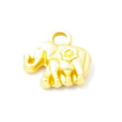Bedel olifant DQ matgoud 12mm (5st.)