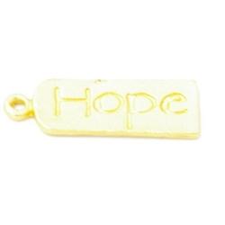 Bedel 'Hope' DQ matgoud 22mm (5st.)