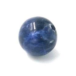 Sodaliet kraal rond 12mm (5 st.)