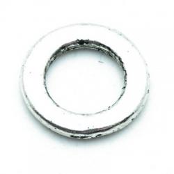 Montagering, metaal, zilver, 20 mm (5 st.)