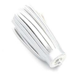 Kwastje PU leer zilver 6,5cm (1 st.)