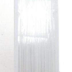 Elastiek rijgdraad, transparant, 0.8 mm (10 meter)