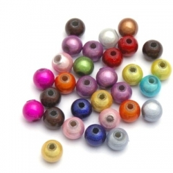 Miracle bead rond mix 4 mm (25 st.)