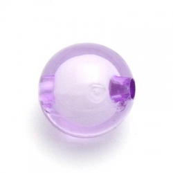 Miracle bead rond paars 16 mm (10 st.)