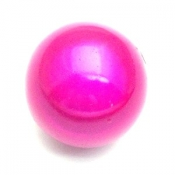 Miracle bead rond fuchsia 24 mm (3 st.)
