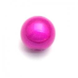 Miracle bead rond fuchsia 8 mm (10 st.)