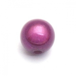 Miracle bead rond paars 10 mm (10 st.)