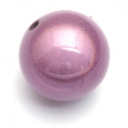 Miracle bead rond paars 24 mm (3 st.)