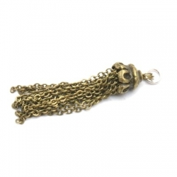 Kwastje, oud goud, 54 mm (1 st.)