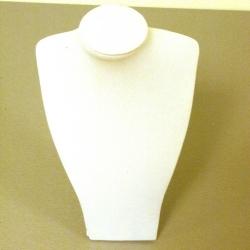 Buste, velours, zwart, 18 cm (1 st.)