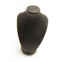 Buste PU leer zwart 16x12cm (1 st.)