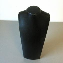 Buste, velours, zwart, 14 x 25 cm (1 st.)