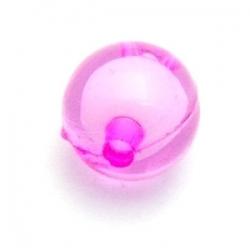 Miracle bead rond fuchsia 12 mm (20 st.)