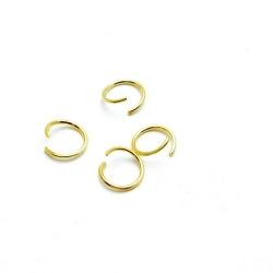 Ring open goud 8 mm (10 gram)