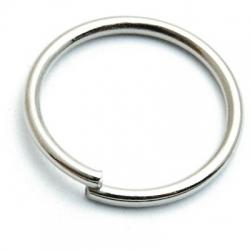 Ring open zilver 16 mm (10 gram)