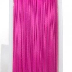Staaldraad roze 0.38mm (100 meter)