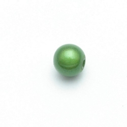 Miracle bead rond groen 10 mm (10 st.)