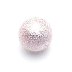 Kunststof kraal rond roze 18 mm (5 st.)