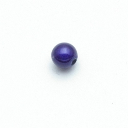 Miracle bead rond blauw 8 mm (20 st.)