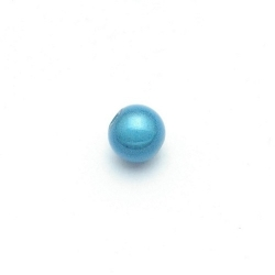 Miracle bead rond turquoise 8 mm (20 st.)