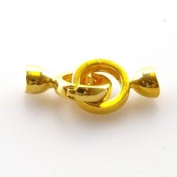 Slotje, goud, 20 mm (3 st.)