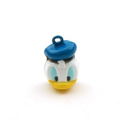 Metaal, belletje, Donald Duck, 24 mm (1 st.)