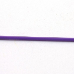 Rubber, lila, 2 mm (1 meter)