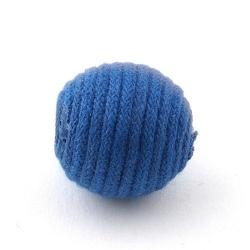 Touwkraal, blauw, 21 mm (3 st.)
