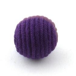 Touwkraal, paars, 21 mm (3 st.)