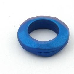 DQ Acryl montagering petrol metallic 30 mm (3 st.)