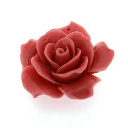 Hanger roosje roze 34 mm (1 st.)