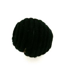 Touwkraal, zwart, 21 mm (3 st.)