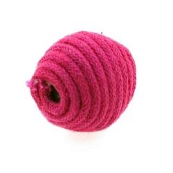 Touwkraal, roze, 21 mm (3 st.)