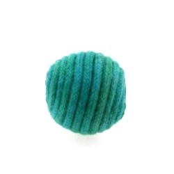 Touwkraal, zeegroen, 21 mm (3 st.)