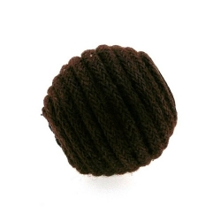 Touwkraal, bruin, 21 mm (3 st.)