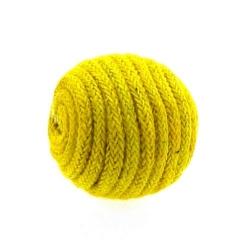 Touwkraal, geel, 21 mm (3 st.)