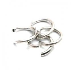 Ring open zilver 4 mm (10 gram)