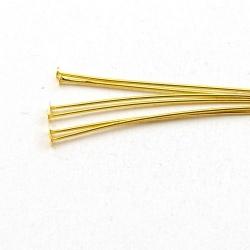 Nietstiften, goud, 60 mm (10 gram)