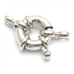 Boeislot, antique zilver, 16 mm (3 st.)