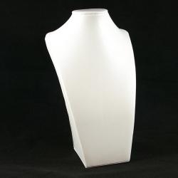 Buste, PU leer, wit, 45 x 24 cm (1 st.)