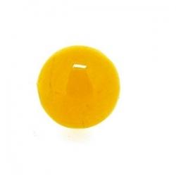 Dyed Jade, kraal, rond, geel, 10 mm (10 st.)