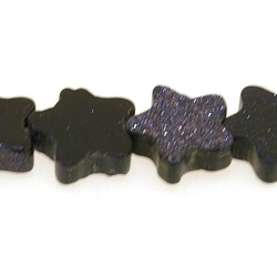 Blue Goldstone kraal ster 10 mm (10 st.)