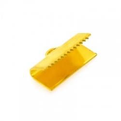 Lintklem goud 16 x 6 mm (6 st.)