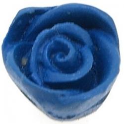 Cinnabar kraal roos blauw 12 x 14 mm (5 st.)