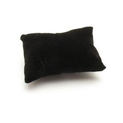 Sieradenkussentje, zwart, PU (1 st.)