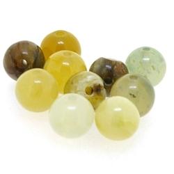 New Jade kraal rond 6 mm (10 st.)