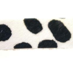 Bontje, wit/zwart, Dalmatiër, 10 mm (60 cm)