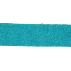 Veter, suede, plat, 10 mm, petrol (1 meter)