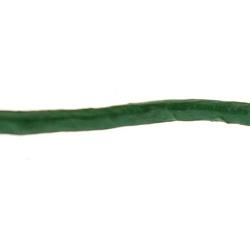 Natuurleer, metallic, groen, 2 mm (1 meter)